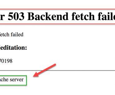 magento 2 503 error