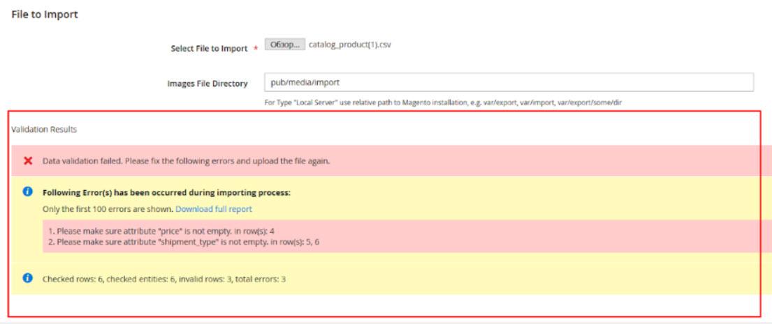 common import error 1