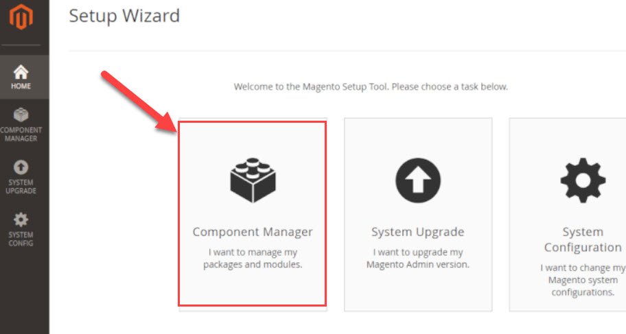 component manager