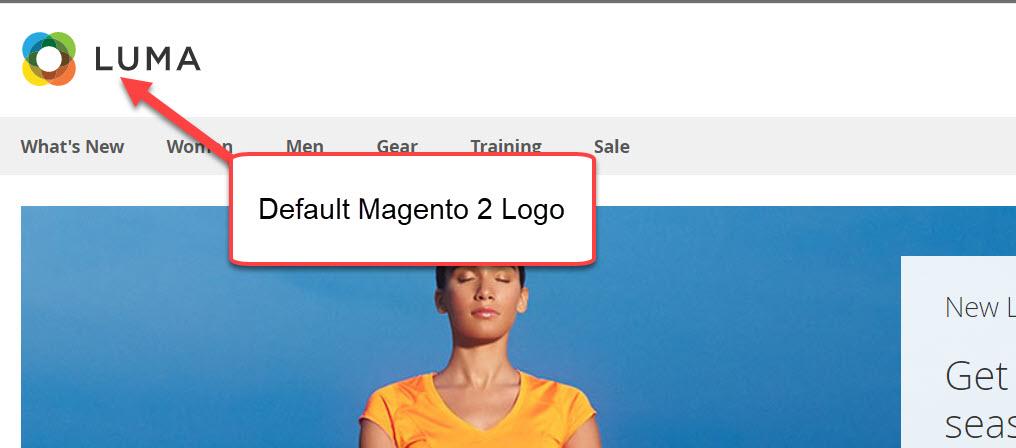 default magento 2 logo