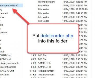 deleteorder php