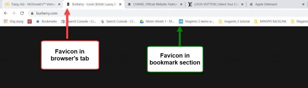 favicon examples