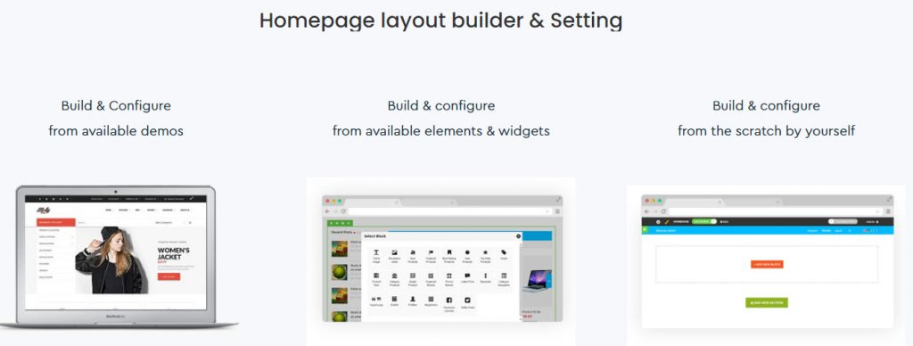 homepage builder tool molly