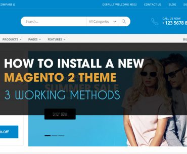 how to install magento 2 theme