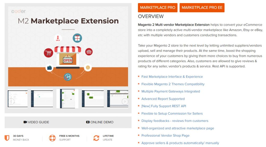 landofcoder magento 2 multi vendor marketplace extension