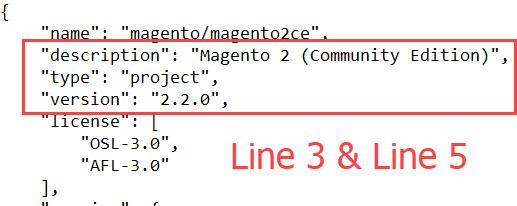 magento 2.2 version composer json