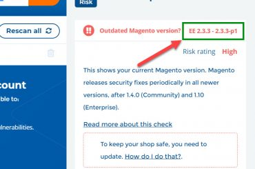 check magento 2 version on your store