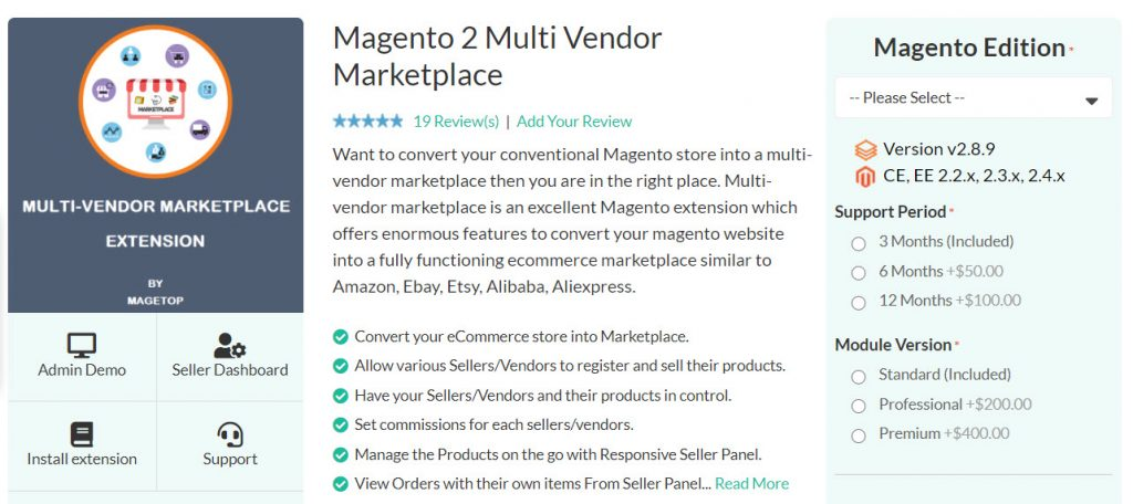 magetop multi vendor marketplace extension