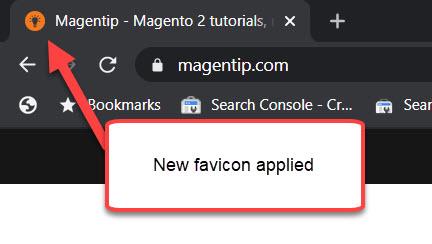 new favicon applied