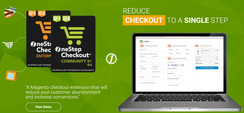 osc one step checkout magento 2 extension