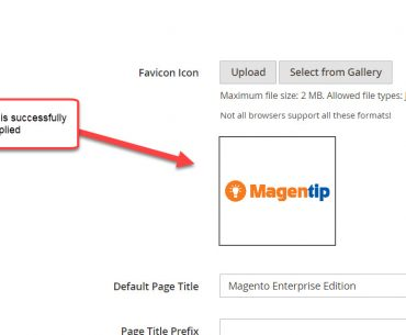 successfully change favicon magento 2