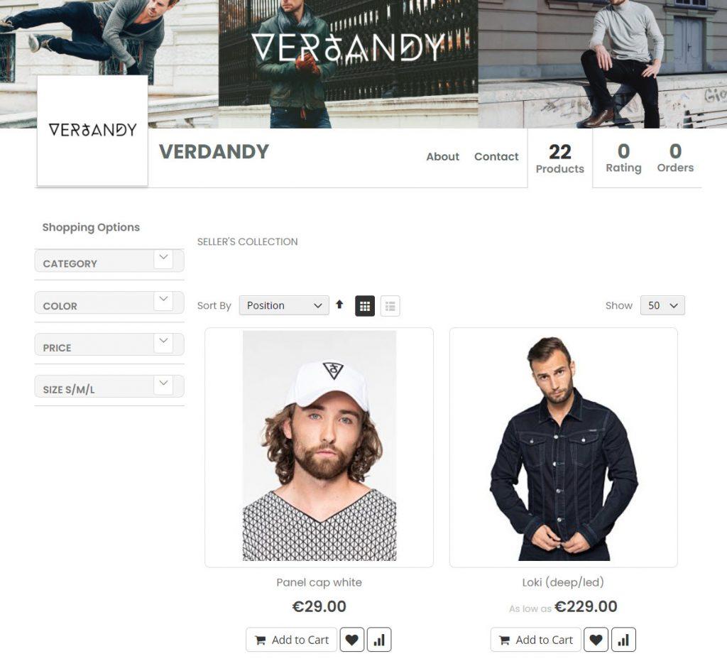 drezzer.com webkul marketplace example 2