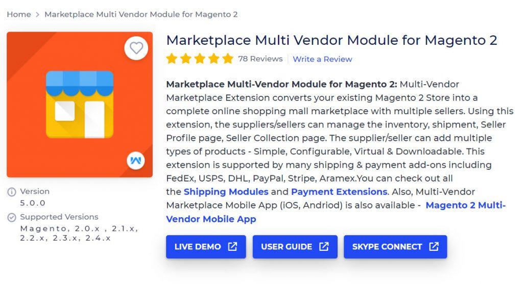 webkul multi vendor marketplace extension