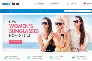 SM MageTheme free magento 2 theme