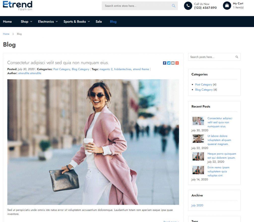 blog etrend