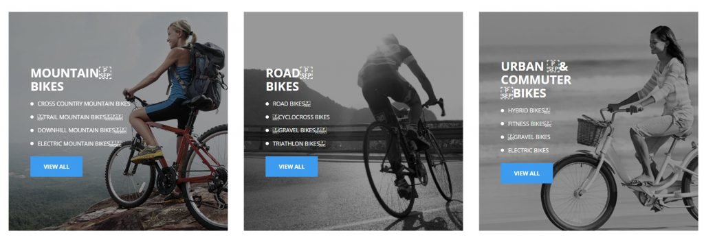 featured category allybike