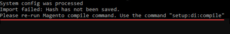 please re-run magento compile command use the command setup di compile
