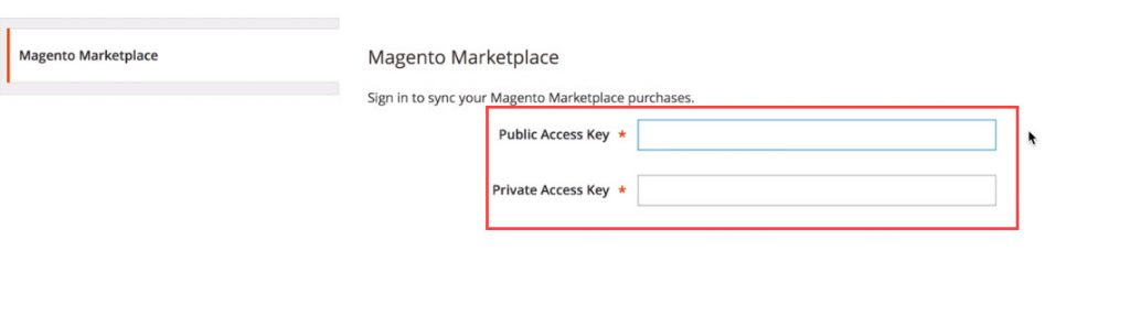 sign in marketplace account
