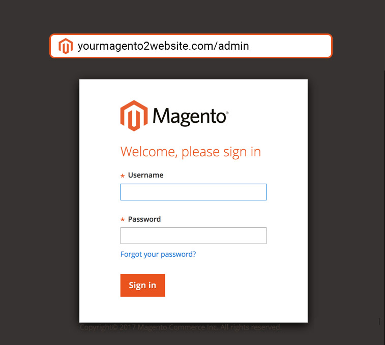 change url admin in magento 2