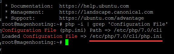 path to php ini linux