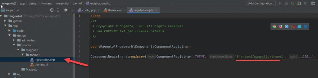 theme registration php file