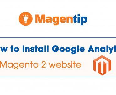 install google analytic magento 2
