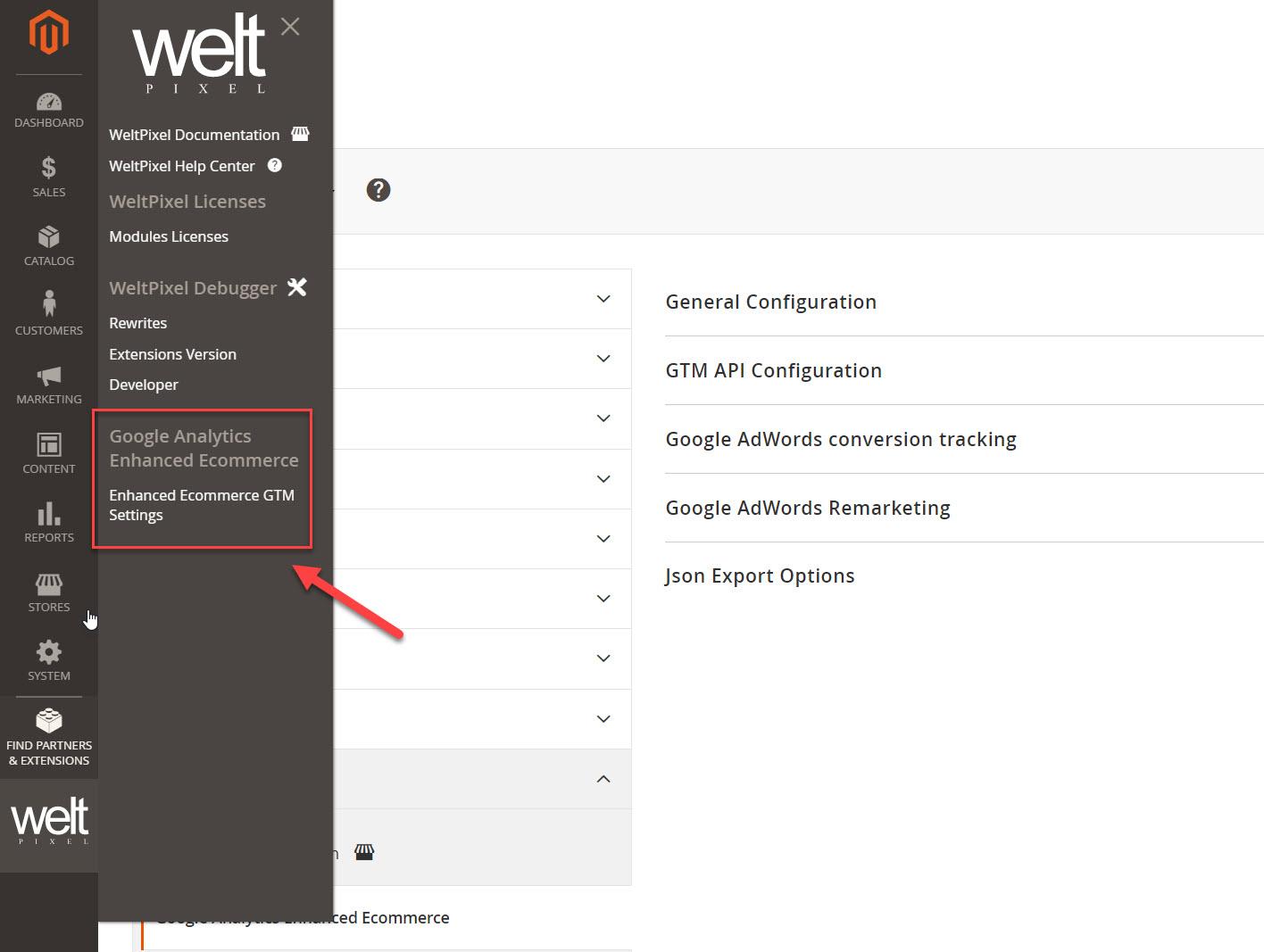 weltpixel google analytics enahanced ecommerce