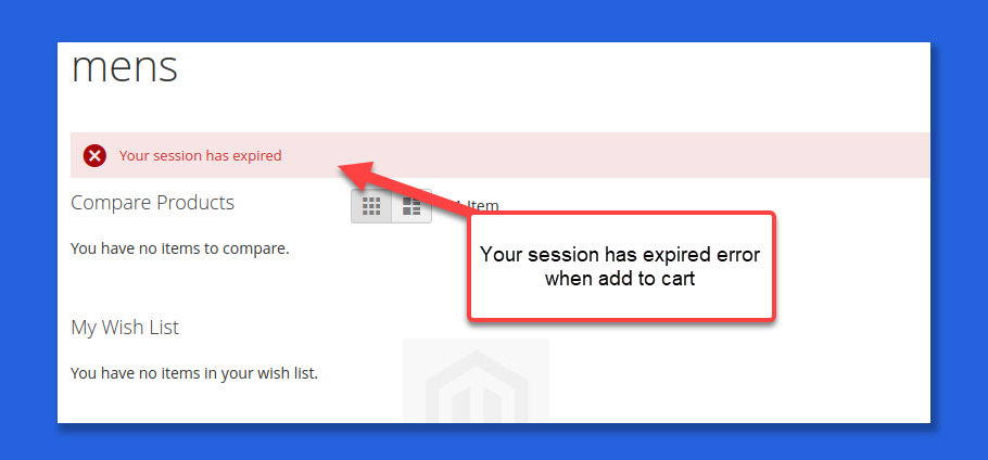 fix your session has expired magento 2